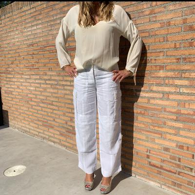 Pantalón lino Best for less