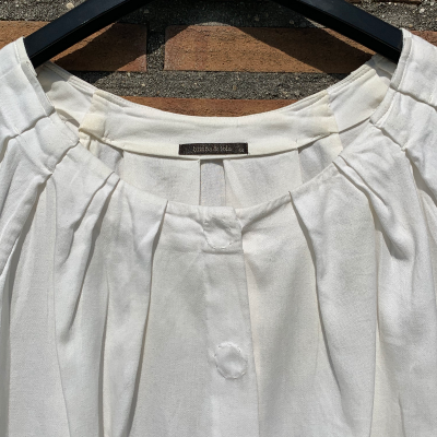 Blusa blanca Best for less