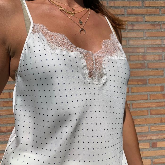 Blusa lencera
