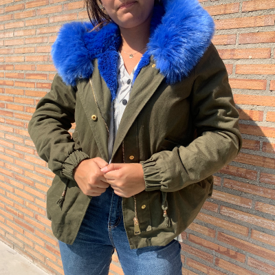 Chaqueta con pelo Best for less