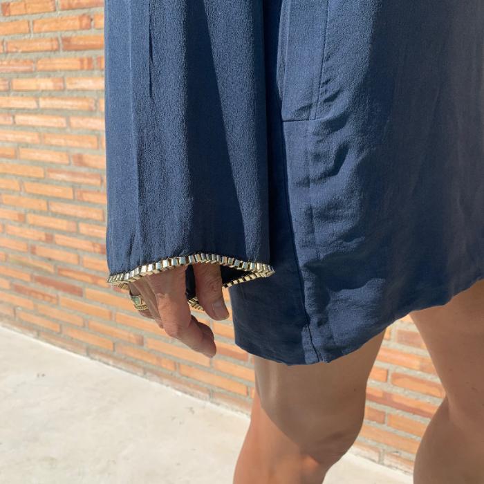 Vestido manga ancha