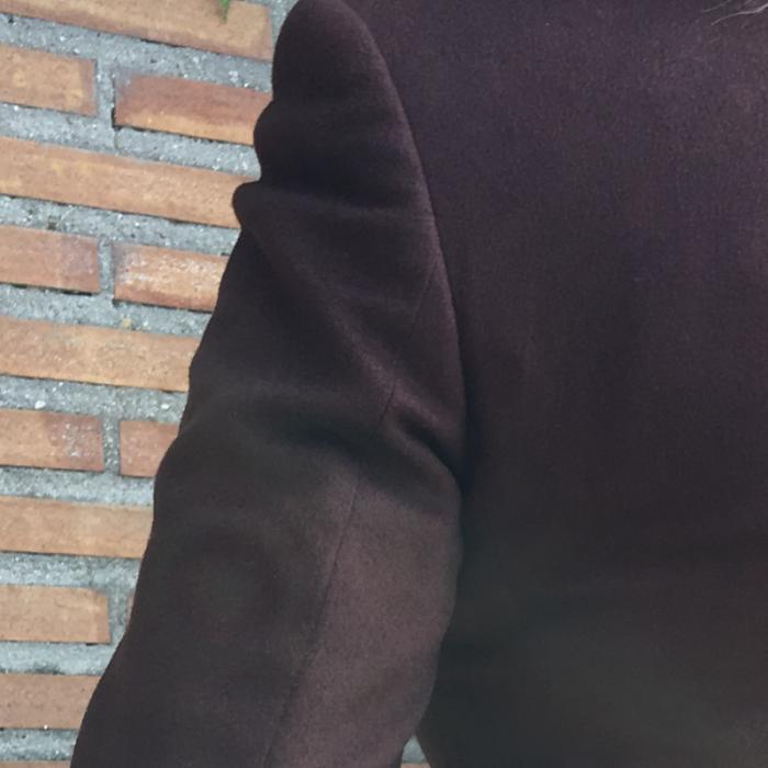 Chaquetón marrón