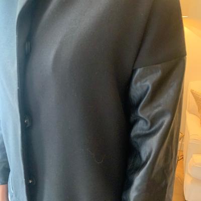 Abrigo negro Hakei