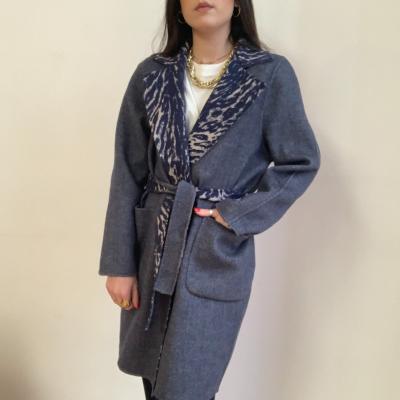Abrigo lana reversible Best for less