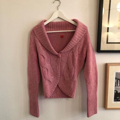 Cardigan rosa