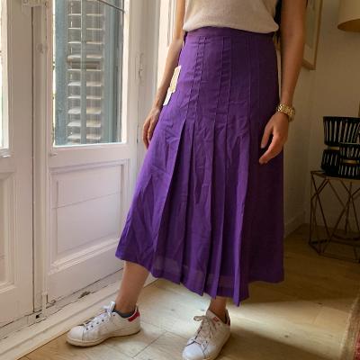 Falda plisado
