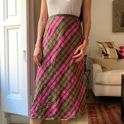 Falda cuadros