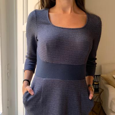 Vestido azul Best for less