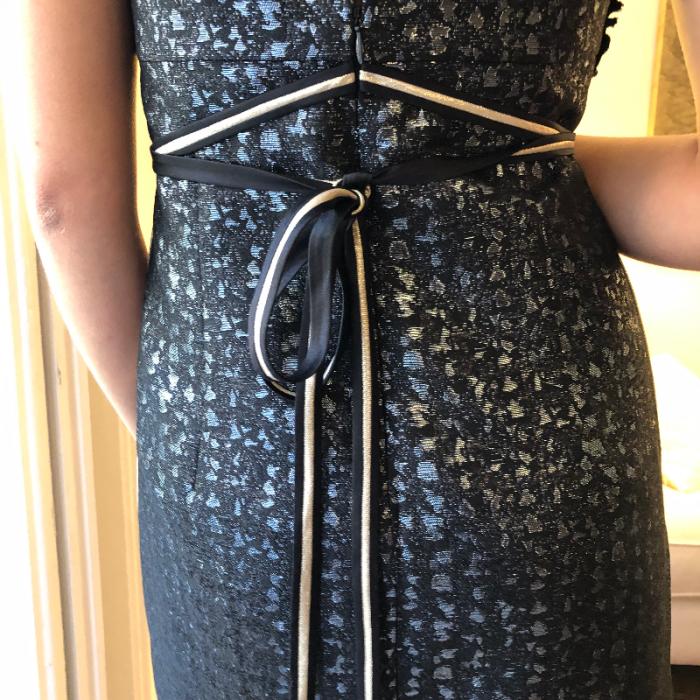 Vestido metálico