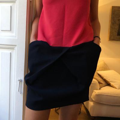 Vestido bicolor Best for less