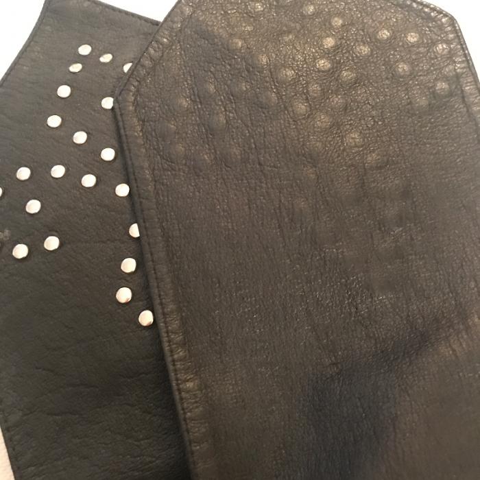 Cinturón piel vintage