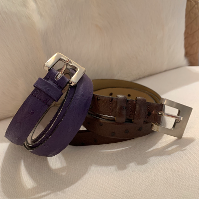 Dos cinturones piel Best for less