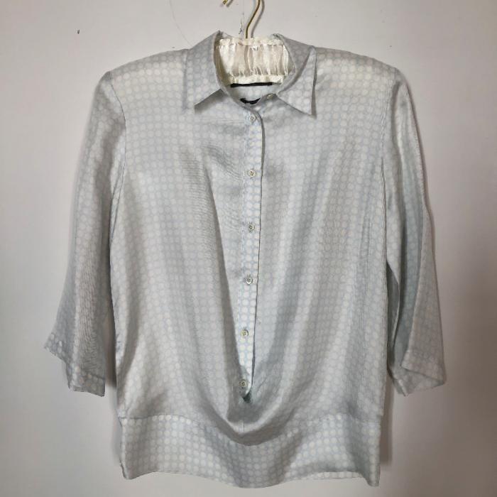 Camisa 100% seda