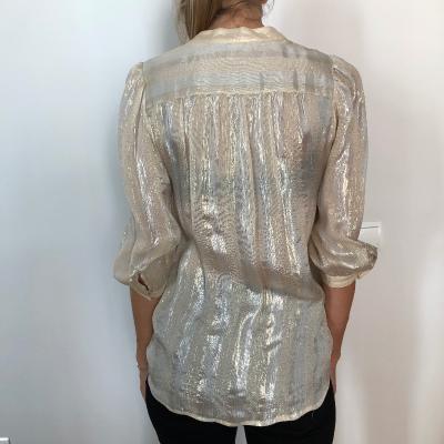 Camisa hilos de oro