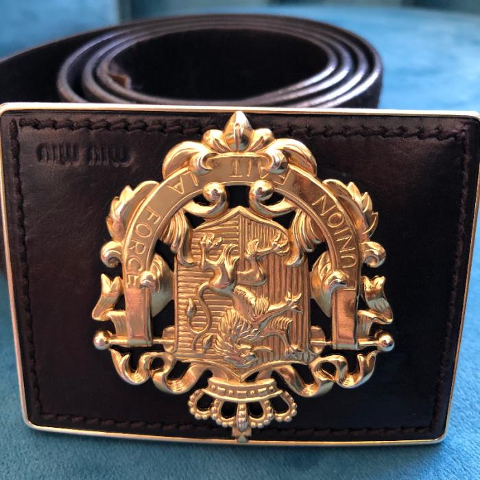 Cinturón MiuMiu