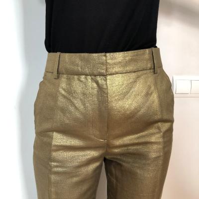 Pantalón metalizado