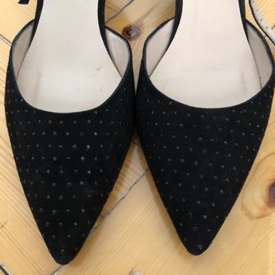Zapato con cuña