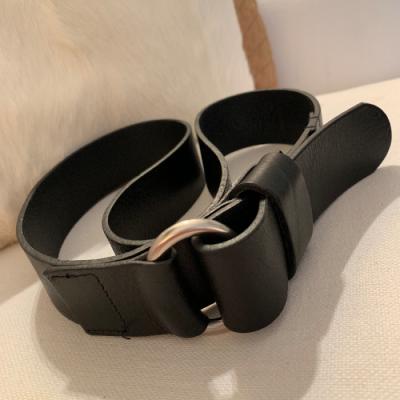Cinturón piel negro Best for less
