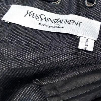 Conjunto americana y falda negro