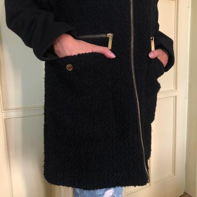 Abrigo negro Best for less