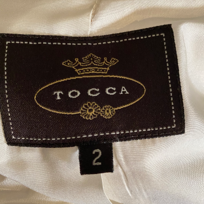 Abrigo beige Tocca