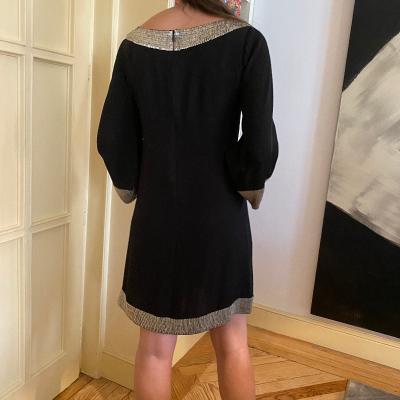 Vestido negro Alice+Olive