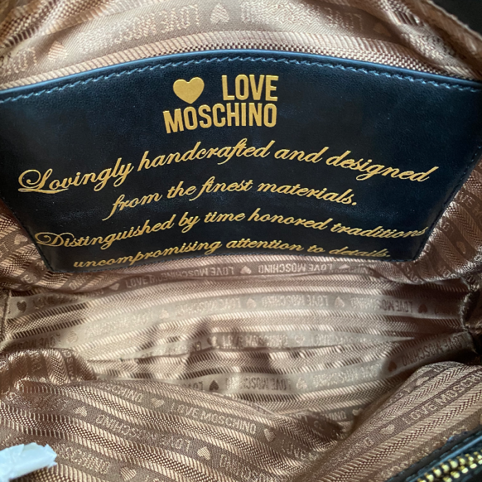 Bandolera Love Moschino