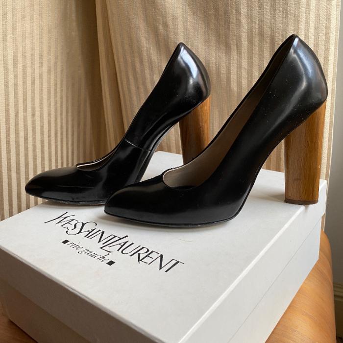 Zapatos tacón YSL