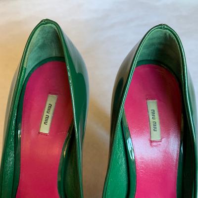 Zapatos charol MiuMiu