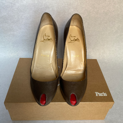 Zapato peep toe Best for less