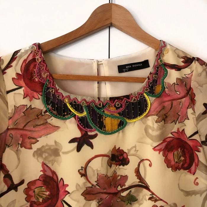 Vestido motivos florales