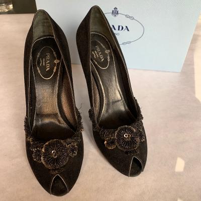 Peep-toes Prada Best for less