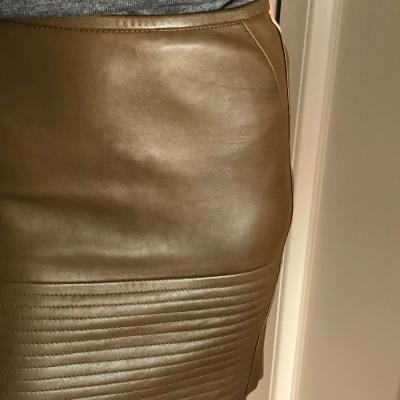 Falda de cuero Best for less