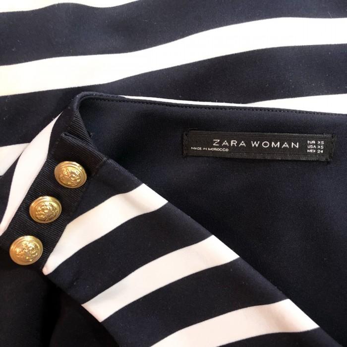 Vestido marinero a rayas