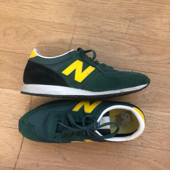 Zapatillas verdes deporte