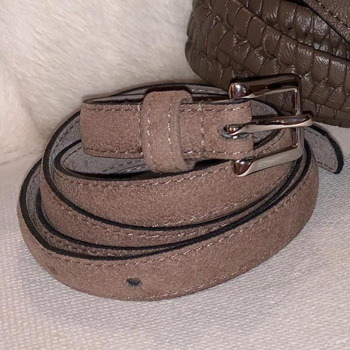 Tres Cinturones de Piel