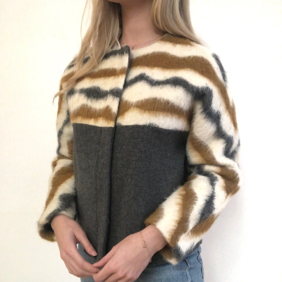 Cazadora en lana Best for less
