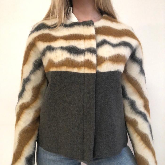 Cazadora en lana