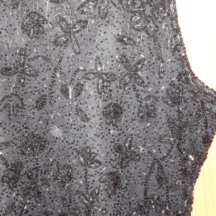 Top joya negro