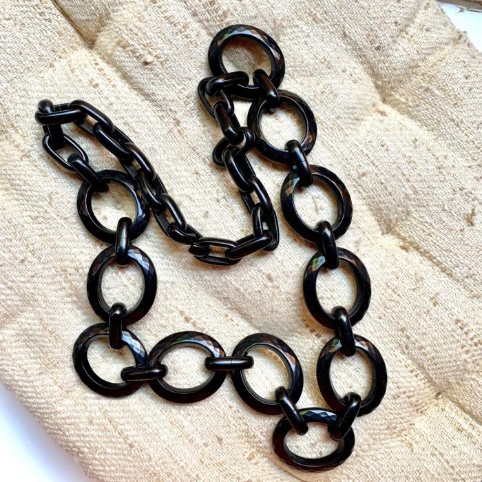 Conjunto 2 collares negro